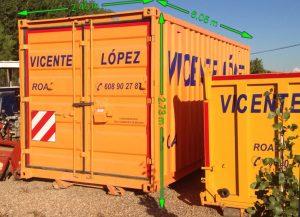 contenedores Vicente Lopez Roa